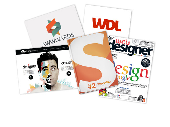 featured in books, magazines and websites