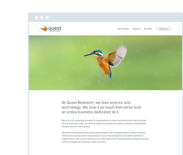quest research website
