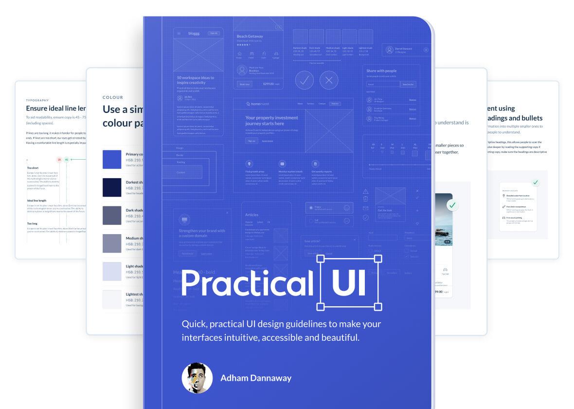 Adham Dannaway's UI design book