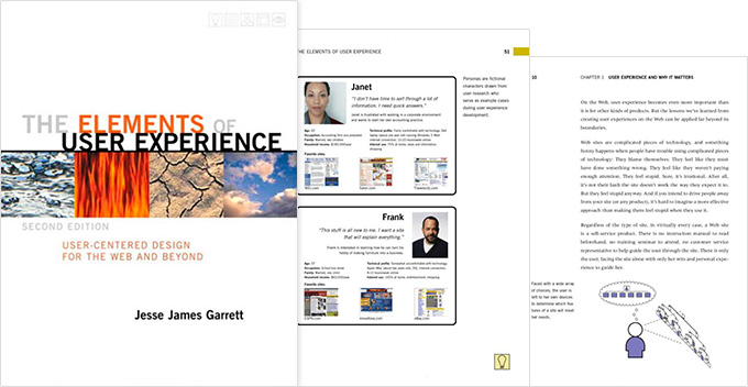 Elements of user experience - UX design book