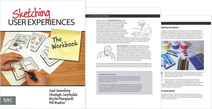 Sketching user experiences - UX design book