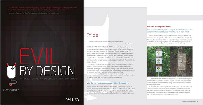Evil by Design UI design book